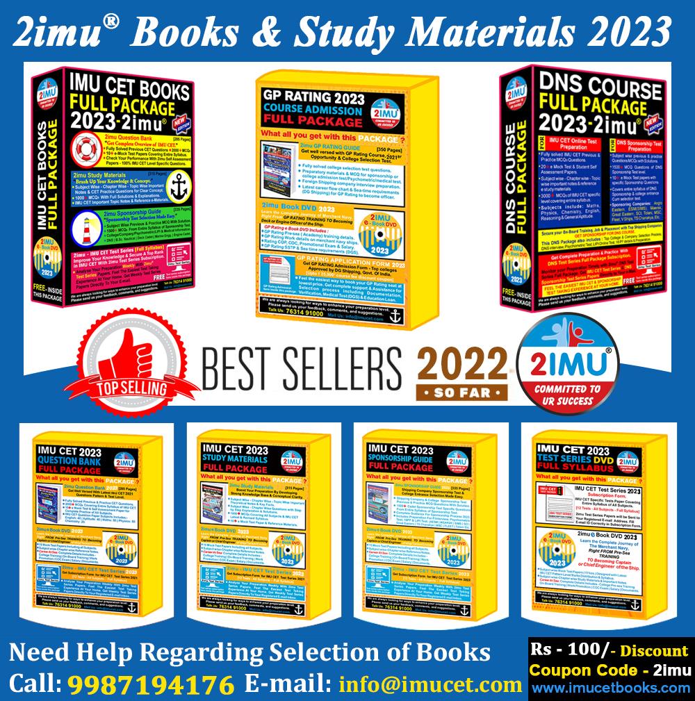 imu cet books, merchant navy books, 2imu books, Gp rating books, Dns preparation books